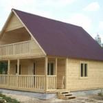 Готовые дома из профилированного бруса