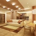 Оформление интерьера мебелью