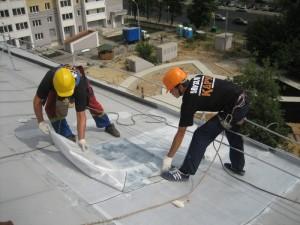 Ремонт крыш зданий