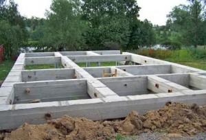 Проекты фундаментов домов из пеноблоков
