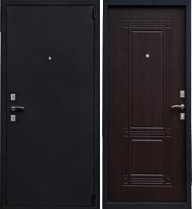 Двери стальные двухконтурные