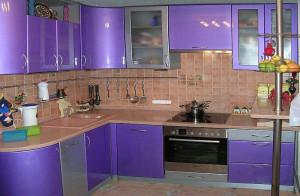 Кухни выполненные на заказ