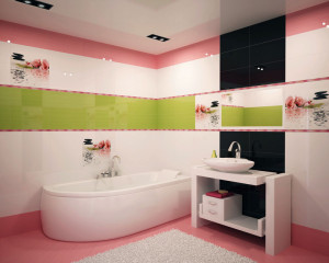 Какую плитку купить для ванной комнаты