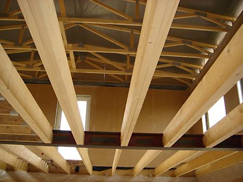 Межэтажные деревянные перекрытия своими руками