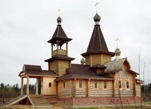 Строительство деревянных храмов