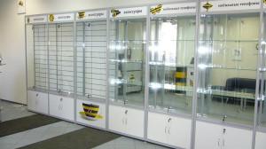 Торговое оборудование для салонов сотовой связи