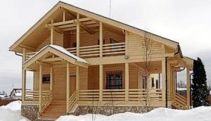 Все преимущества деревянного дома