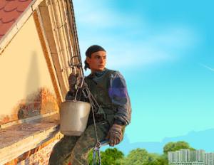 Фасадные высотные работы