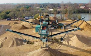Искусственный песок для строительства