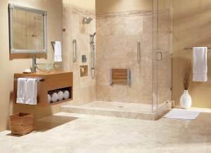 Дизайн интерьера ванной комнаты в стиле ампир