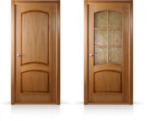 Белорусские двери дуб