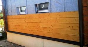Деревянная вагонка для наружних работ