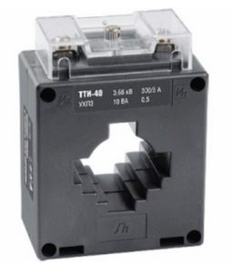Особенности трансформаторов тока