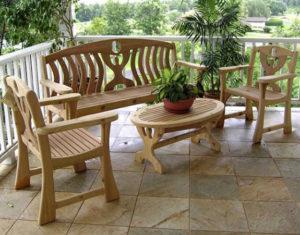 Выбираем мебель для дачи и отдыха