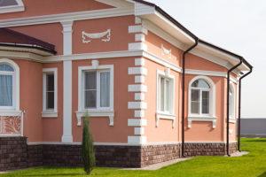 Виды декора для фасада