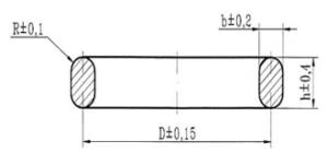 Прокладки овального сечения ост