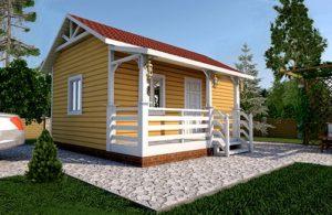 Каркасные дома по индивидуальным проектам